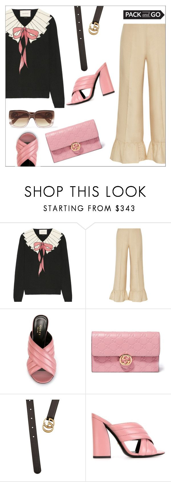 """""""Pack and Go: Mexico City"""" by danielle-487 ❤ liked on Polyvore featuring Gucci and Packandgo"""