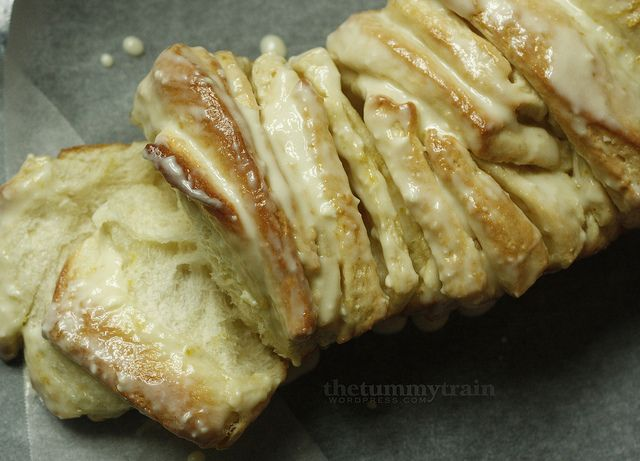 Lemon-Scented Bread | Desserts and Sweets | Pinterest | Pull Apart ...