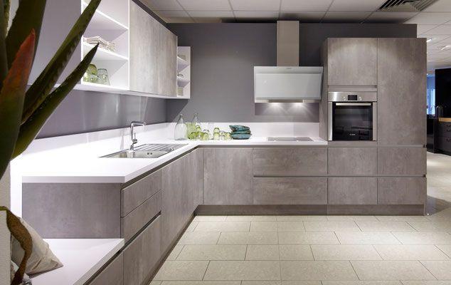 Cuisine Design Toulouse Porte Chêne Couleur Fjord Tendance - Schroder cuisine