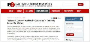 Electronic Frontier Foundation parla di fix ubuntu e il problema del logo Ubuntu