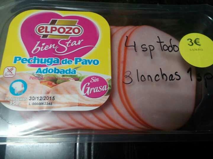 Pechuga de pavo adobada El Pozo