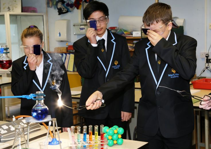 Science classes at Mark Hall Academy