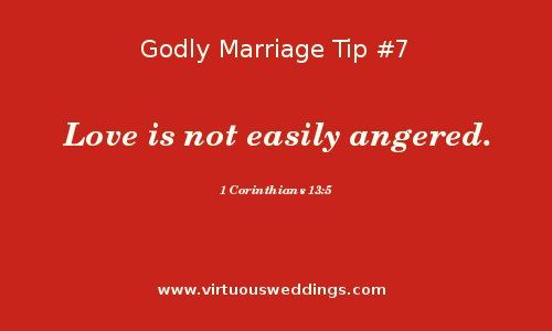 Godly Marriage Tip #7| More Godly Marriage Tips at www.virtuousweddings.com!