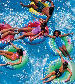 """Looking for family fun activities for Vacations in Palm Springs, or great ideas for places to celebrate birthdays, reunions and celebrations? Find it here with """"Knott's Soak City in Palm Springs,"""" a popular family-friendly 16-acre seasonal water park."""