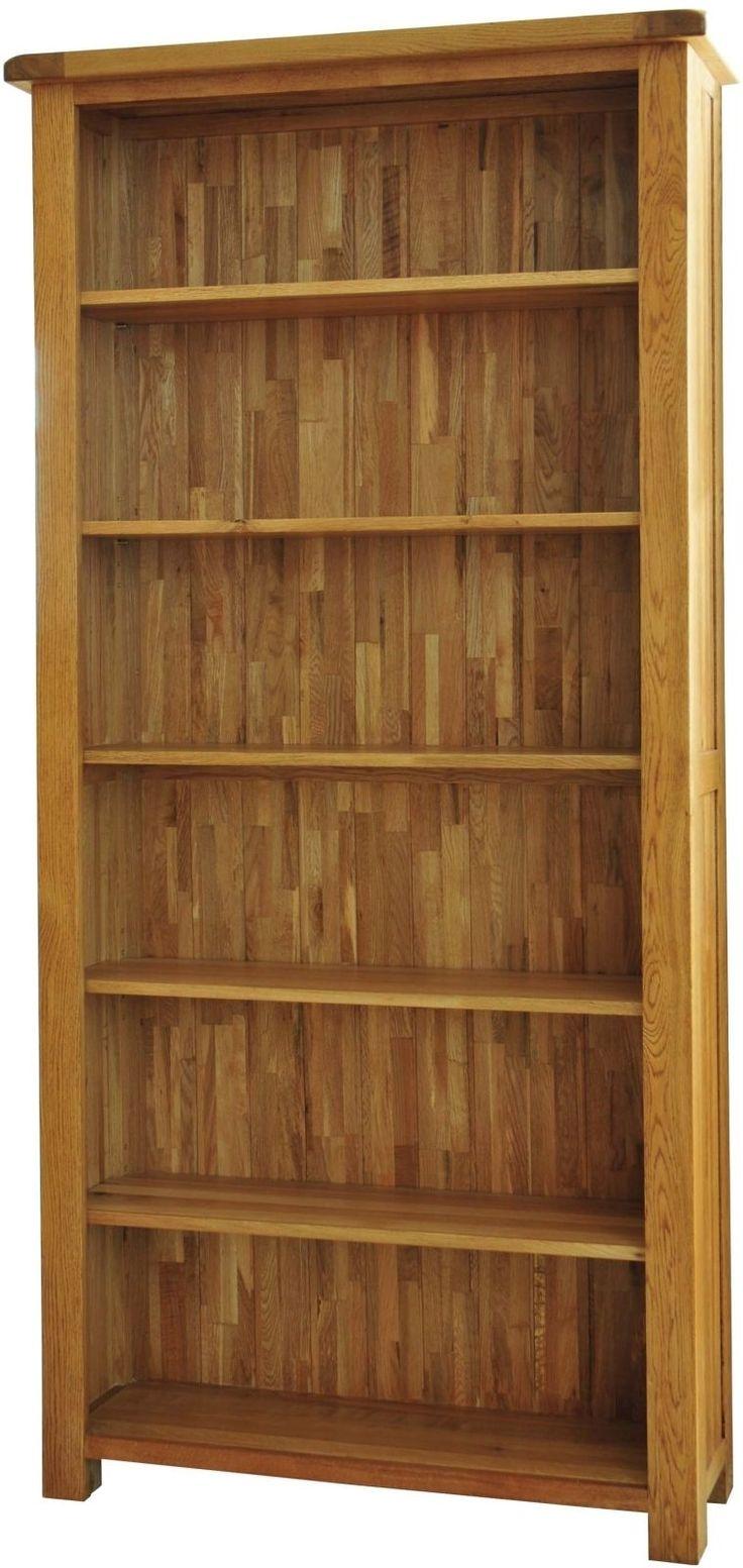 Grasmere Solid Oak Living Room Office Furniture Large Bookcase | eBay