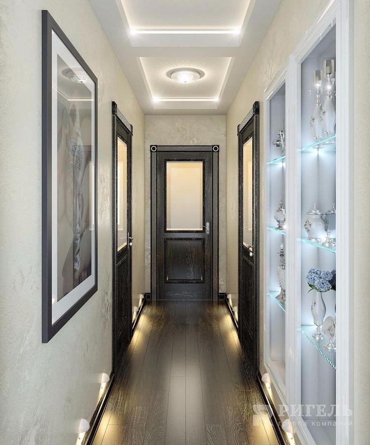 Холл. Дизайн-проект VIP салона красоты в стиле Ар-деко от #rigelgroup. Площадь…
