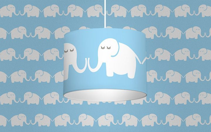 Leuchte Elephants, for him - Designer Tapeten DecorPlay