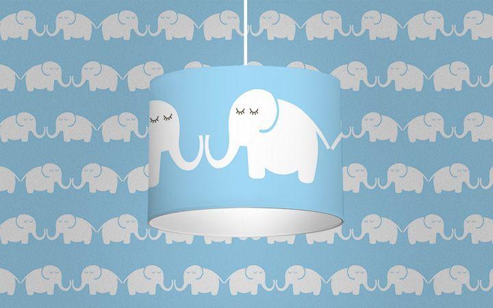 Leuchte Elephants, for him - Designer Tapeten DecorPlay