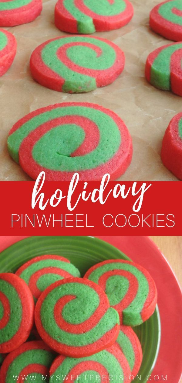The First Day Of Christmas Pinwheel Cookies Biscuit Recipes