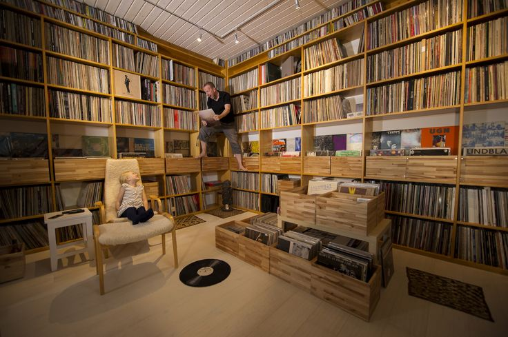 Warning: Contains thousands of records. A rare visit to free jazz heavyweight Mats Gustafsson's extraordinary two-and-a-half tonne vinyl cave.