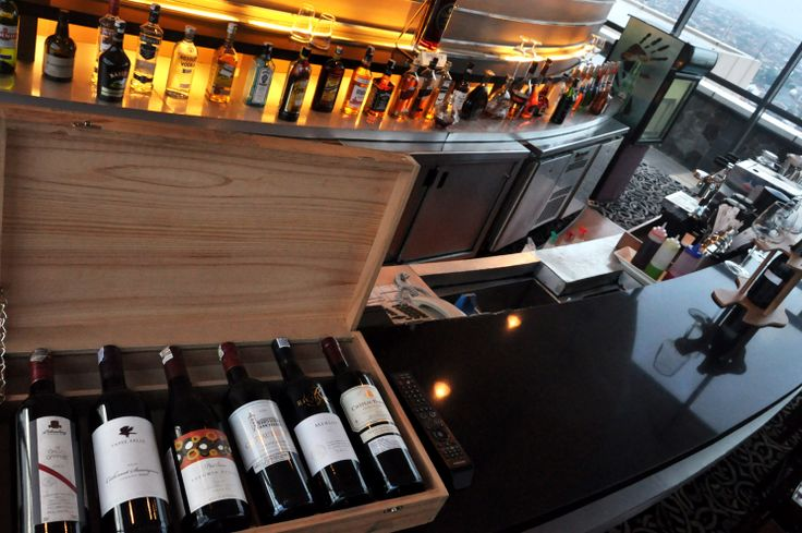 Sky Line bar at 17th floor #wine #lounge #hotel #alcohol #travel #fresh