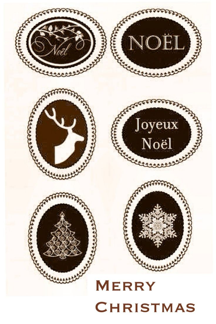 278 best rustic christmas images on pinterest christmas for Can you print stickers at staples