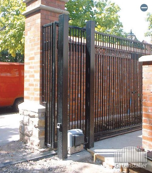1000 Ideas About Sliding Gate On Pinterest Automatic