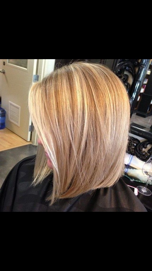 Long Bob. If I cut my hair this is what i want to do!