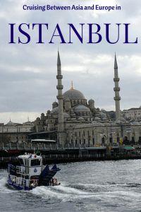 Cruising between Continents in Istanbul: Bosphorus Cruise