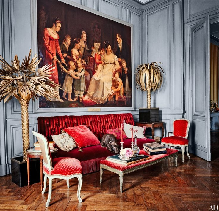 Neoclassical chateau du fresne by Ethnic Chic