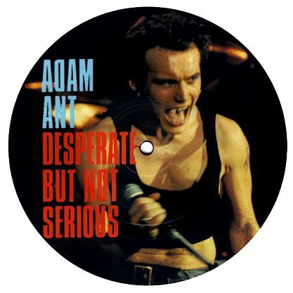 "7"" Picture-Single (Vinyl) Adam & The Ants - Desperate but not serious kaufen…"