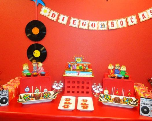 """Photo 1 of 25: Alvin and the Chipmunks / Birthday """"Diego's 7th Birthday Party"""""""