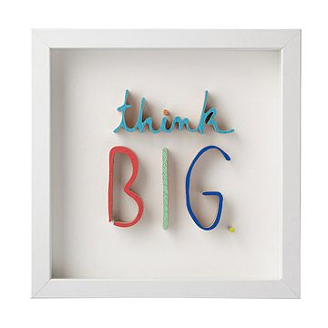 Look what I found at UncommonGoods: Think BIG. for $150.00