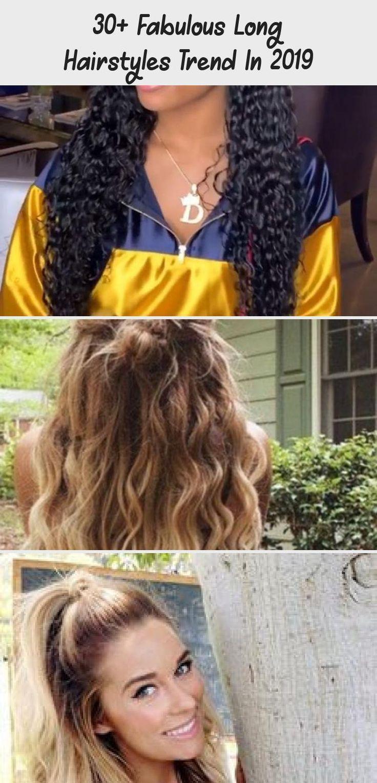 Trend der 30 fabelhaften langen Frisuren im Jahr 2019 30 F #classpintag #explore #Fabulous #hairstyles