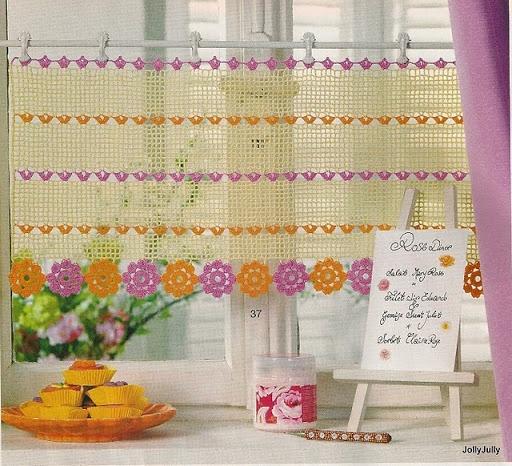 1000+ ideas about Crochet Curtain Pattern on Pinterest   Crochet ...