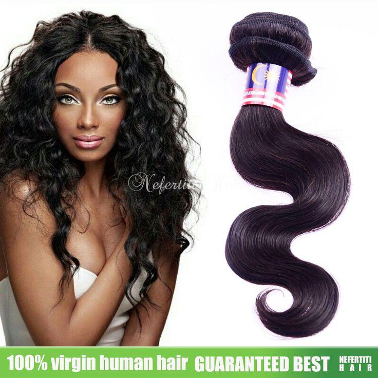 Nefertiti Top Hair Vendors Malaysian Virgin Hair Body Wave Malaysian Wavy  Hair Mixed Lenght 8