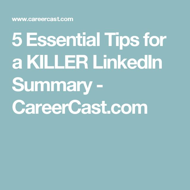 The 25+ best Linkedin summary ideas on Pinterest Accounting - get resume from linkedin