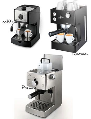 From the blog : The 3 best espresso machines for your home (under $300)