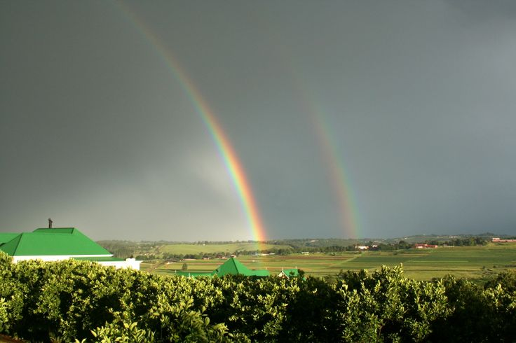 Rainbow over our valley