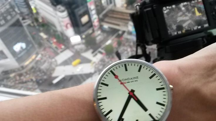 My #Moto360 is so damn sexy. I love this shot btw. You can see #tokyo in the background and my #lumixgh2