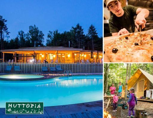 Camping Huttopia Sutton