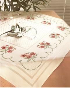 Zweigart Largo Centre Tablecloth-#5399/819