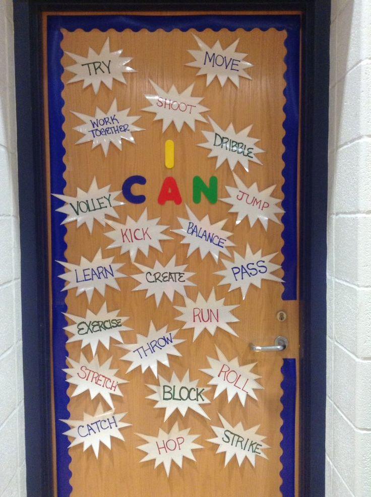 I Can bulletin board - @SpringMillsPE