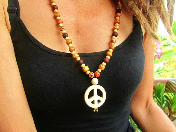 Strengthening and Stabilising Picture Agate Beaded Maxi Necklace