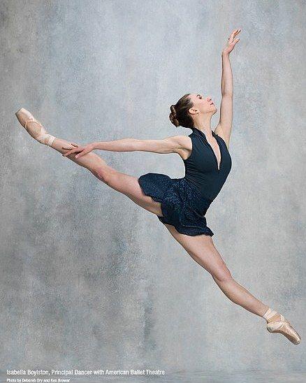 Isabella Boylston, Principal dancer with American Ballet Theatre. Photo by Deborah Ory and Ken Browar