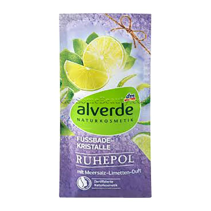 ALVERDE Natural Cosmetics Foot Bath Crystals Oasis of Calm 40 g | Get Some Beauty