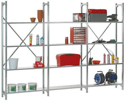 Industrieregal, Stecksystem 1900 x 2820 x 300 mm NEU! | eBay