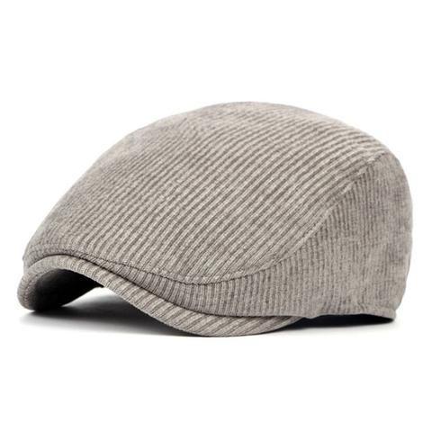 f8b964d89 Knitted Warm Beret Hat for Men - Blue,Dark Purple,Khaki,Black ...