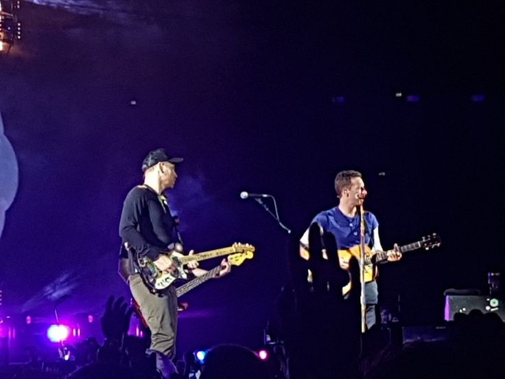 Coldplay, concert in Warsaw