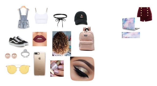 """""""Untitled #27"""" by gabygabi07 on Polyvore featuring Pierre Balmain, Alexander Wang, Vans, Casetify, Forever 21, Bliss Diamond and Nordstrom Rack"""