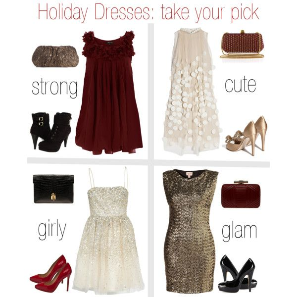 Holiday Dress Guide...need to use for the partyyyy!!