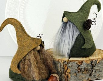 Nordic Elf Gnome, Friend Gifts, Gnome Gift, Elf, Fairies, Woodland, OOAK, Gifts for Her, Gnome Lover Gifts, Scandinavian Gnome, Forest Gnome