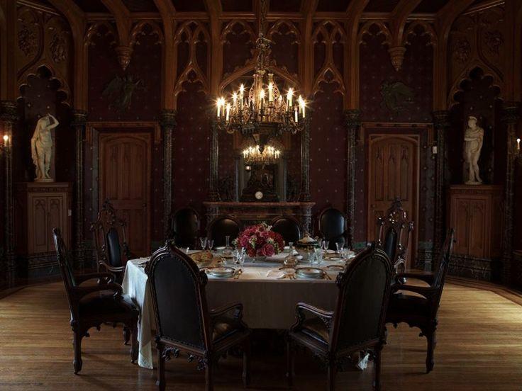 The dining room at Lyndhurst Mansion NY. | Victorian home ...