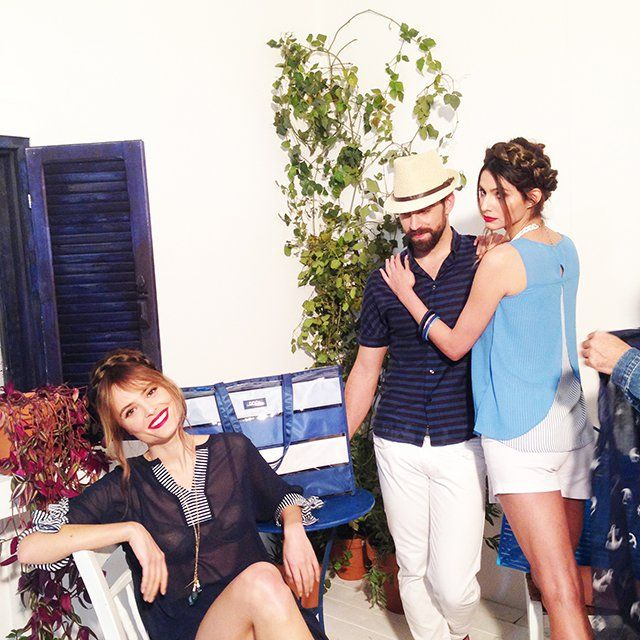 Backstage snapshots from the photo-shooting. DOCA Spring - Summer 2015 Collection is now available at DOCA Shops & Online: www.doca.gr #doca #ss15 #backstage