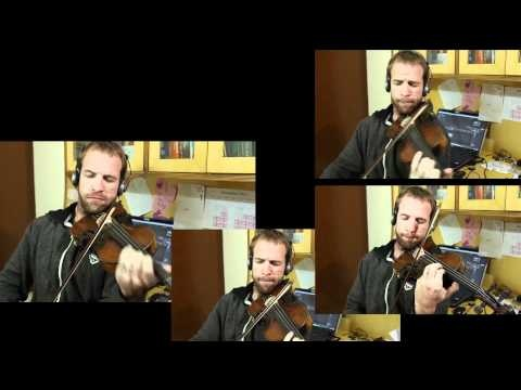 "Hobbit Trailer Song ""Misty Mountains Cold"" on Violin. WHOA."