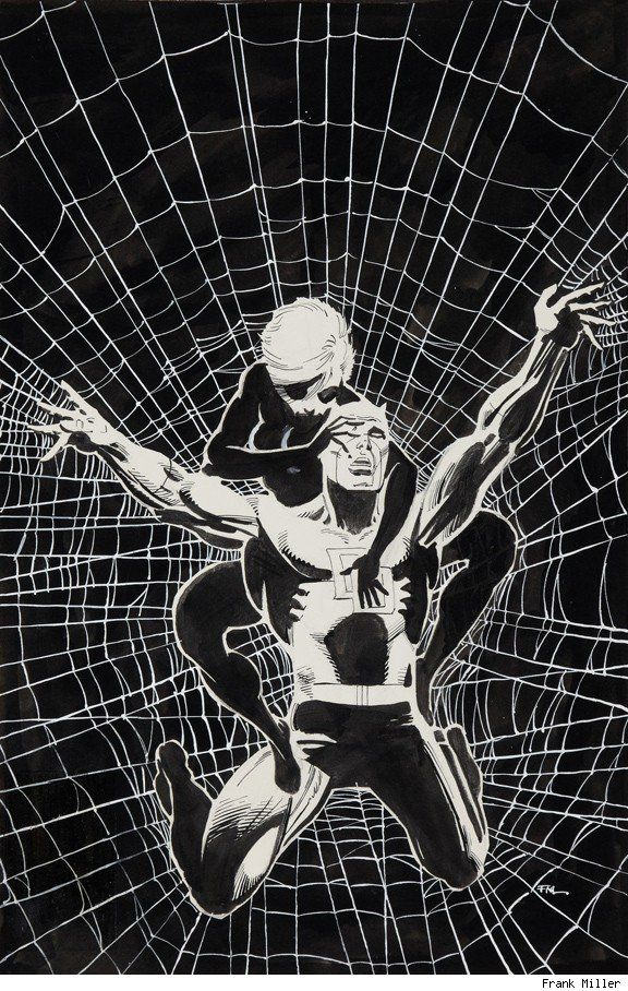 Daredevil and Black Widow by Frank Miller