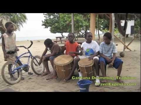 Tribal Music, Drumming and Dance Traditions - Garifuna Kids in Belize