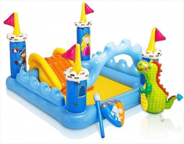 Kasteel Speelzwembad (Intex) #zwembad #zwembaden #intex #kinderzwembad #kinderzwembaden #speelzwembad