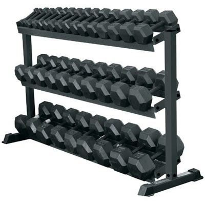 Another great hex dumbbells set with rack from York Barbell...  https://www.strengthfitnessoutlet.com/collections/best-sellers/products/york-barbell-5-75-lbs-15-pairs-rubber-coated-hex-dumbbell-set-with-rack … #sale #dumbbellsrack