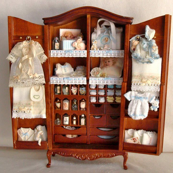 Children's clothing armoire #miniature